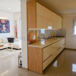 0267 Пентхаус с панорамным видом на море кухня
