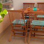 0260 Красивая квартира для отдыха в Баре Терраса