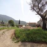 0254 Участок земли в пригороде Бара Участок с дороги