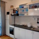 0286 Квартира вблизи от моря кухня