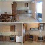 0221 Этаж дома на длительную аренду в тихом месте Кухня