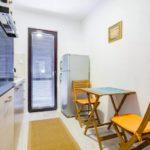 Двухспальный апартамент в сосновой роще Кухня