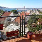 0325 Квартира с видом на море вблизи набережной г.Бар Вид с террасы