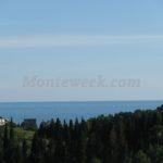 0313 Дом с видом на море в г. Сутоморе Вид с террасы
