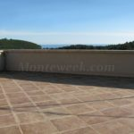 0313 Дом с видом на море в г. Сутоморе Панорамна терраса