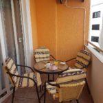 0337 Квартира с 1 спальней вблизи от моря Терраса