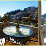 Новые апартаменты с видом на море Студия для троих