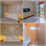 0334 Элитная квартира у моря Спальня 2 и гардеробная