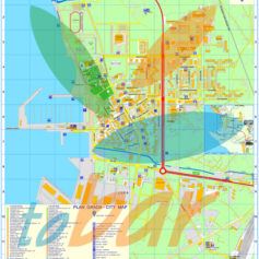 Карта города Бар