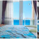 Красивая вилла с бассейном у моря Спальня