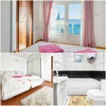 Роскошная вилла с бассейном у моря Спальня 4 и ванна