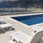 Апартамент с бассейном и видом на море Бассейн