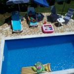 Дом с бассейном в живописном месте