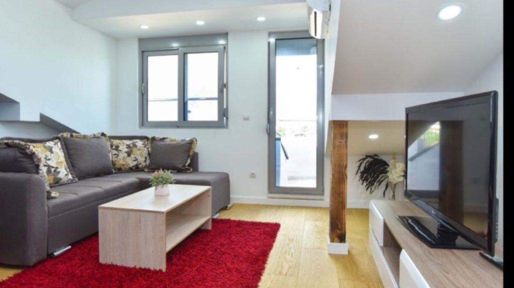 Аренда квартиры с 2 спальнями в г.Будва
